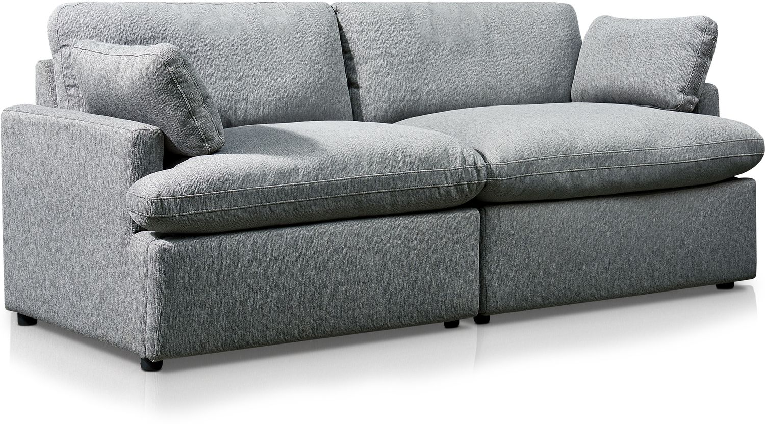 Living Room Furniture - Cozy 2-Piece Power Reclining Sofa
