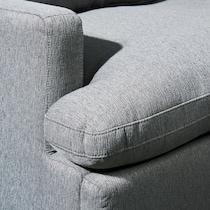 cozy gray power recliner