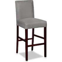 crista gray bar stool