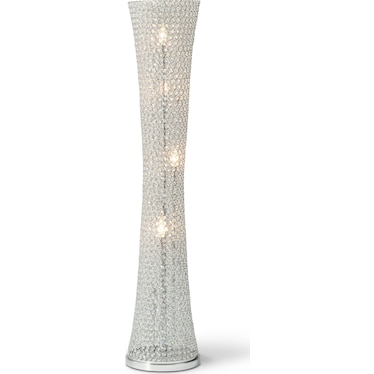 Crystal Curve Floor Lamp