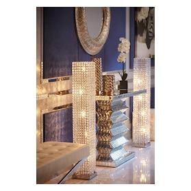 Crystal Tower Floor Lamp