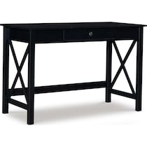 dallas black desk