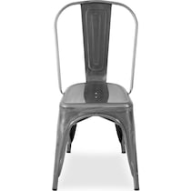 dax silver dining chair