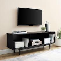 dennis black tv stand