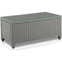 destin gray outdoor sofa set