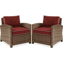destin sangria outdoor chair set
