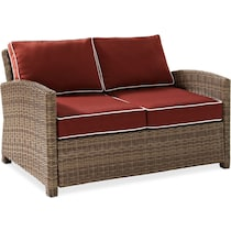 destin sangria outdoor loveseat