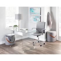 director gray office chair