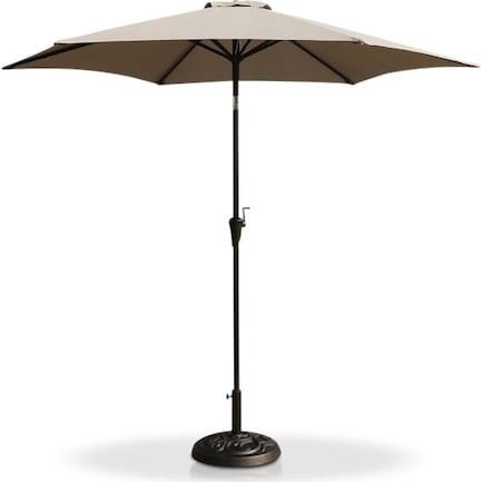 District Outdoor Umbrella - Gray