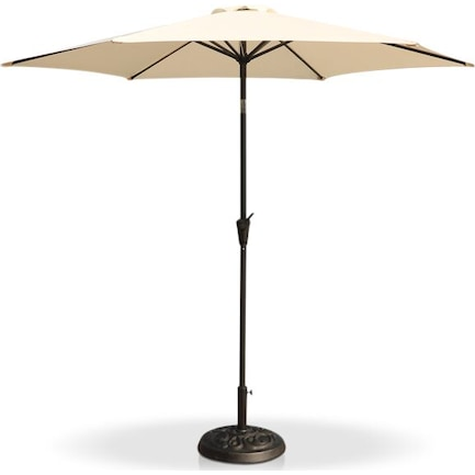 District Outdoor Umbrella - Cream