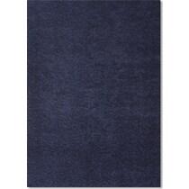 domino blue shag blue area rug ' x '