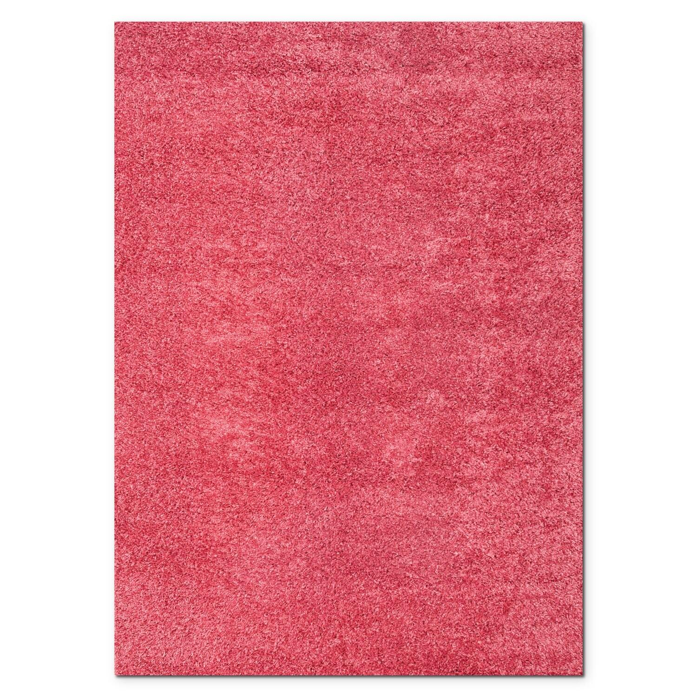 Rugs - Domino Shag 8' x 10' Area Rug - Pink