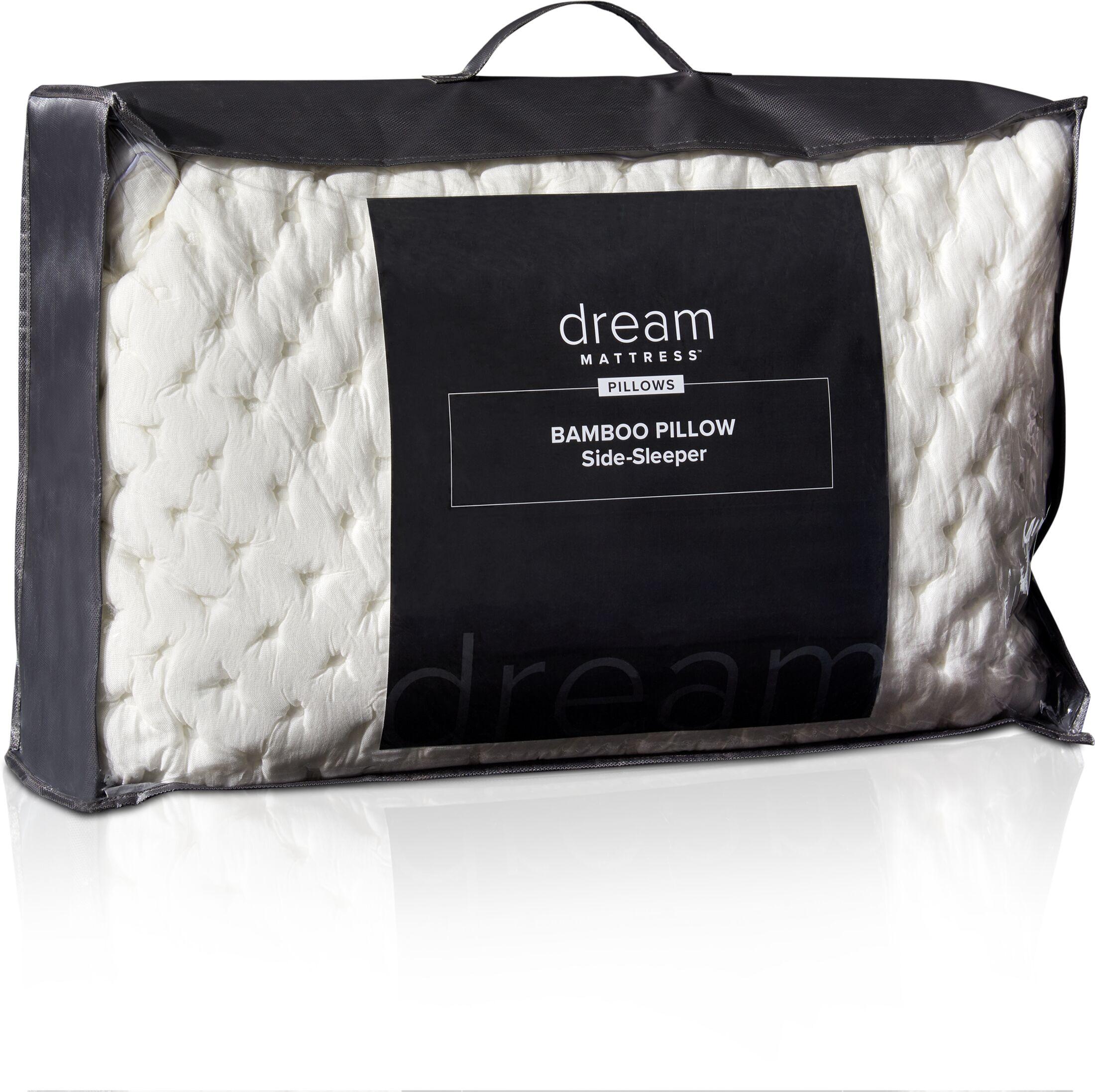 Mattresses and Bedding - Dream Side Sleeper Bamboo Pillow