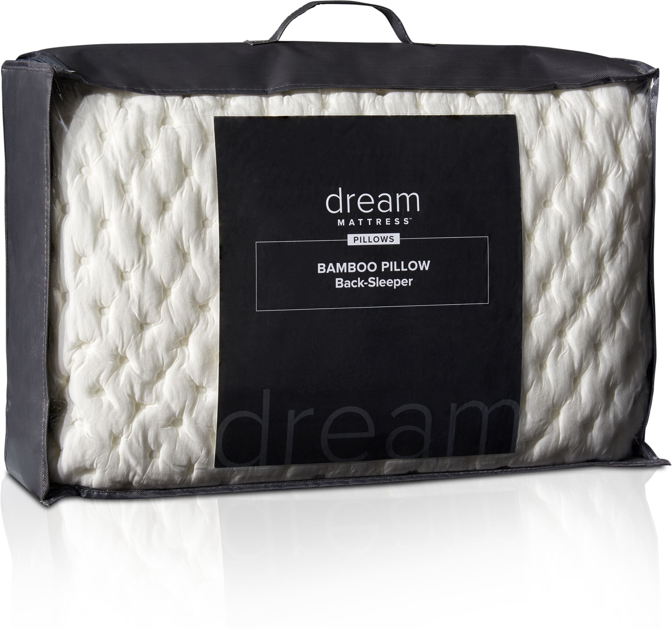 Mattresses and Bedding - Dream Back Sleeper Bamboo Pillow