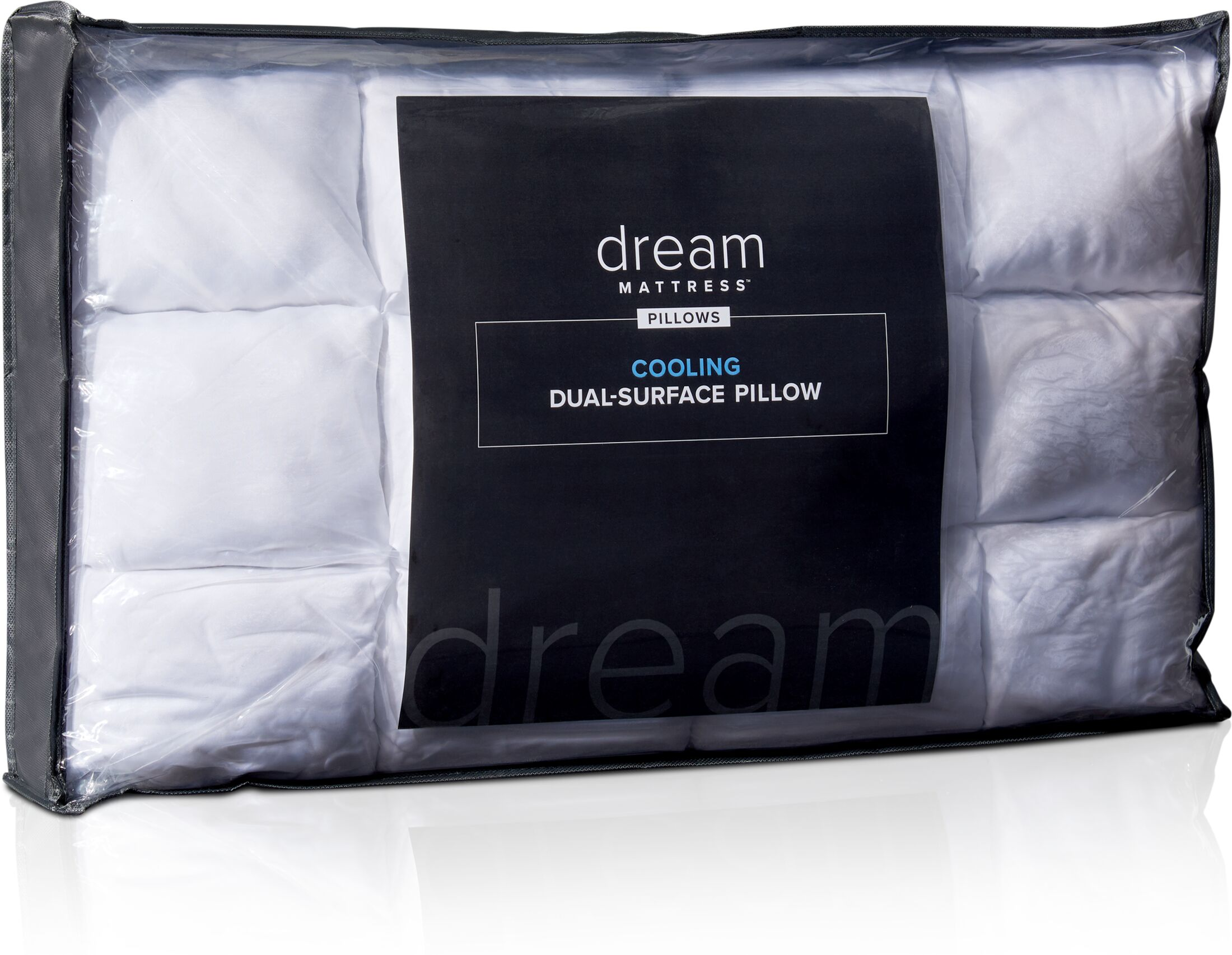 Mattresses and Bedding - Dream Dual-Surface Cooling Pillow