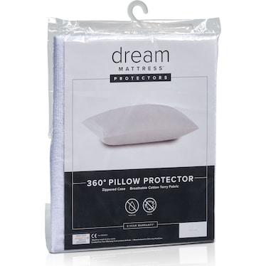 Dream Queen Terry Pillow Protector