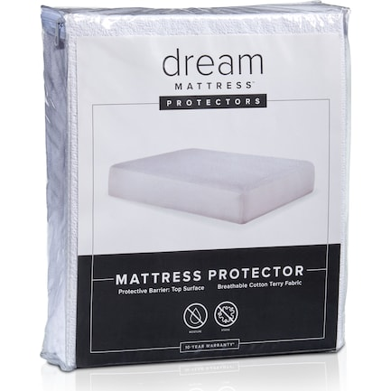 Dream Twin Terry Mattress Protector