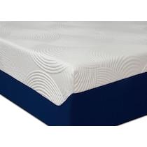 dream refresh white twin mattress foundation set
