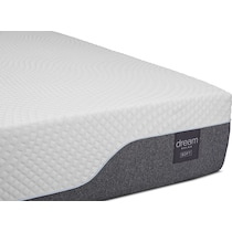 dream relax white full mattress foundation set