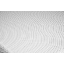dream relax white king mattress split foundation set