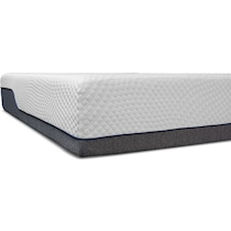 dream relax white queen mattress foundation set