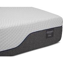 dream relax white queen mattress split foundation set