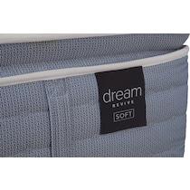 dream revive white queen mattress foundation set