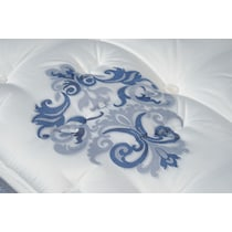 dream revive white queen mattress low profile foundation set