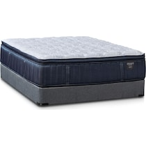 dream serene gray twin mattress low profile foundation set