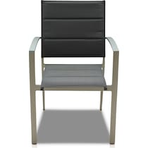 edgewater gray outdoor dinette