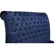 ella blue king bed