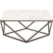 emma white coffee table