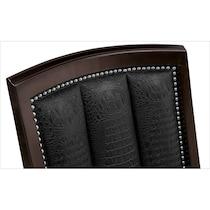 esquire dark brown side chair
