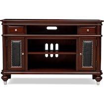 esquire dark brown tv stand