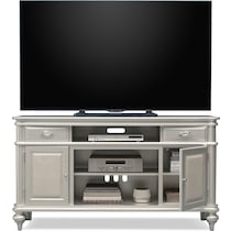 esquire white tv stand