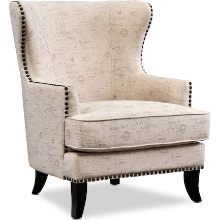Eva Accent Chair - Script