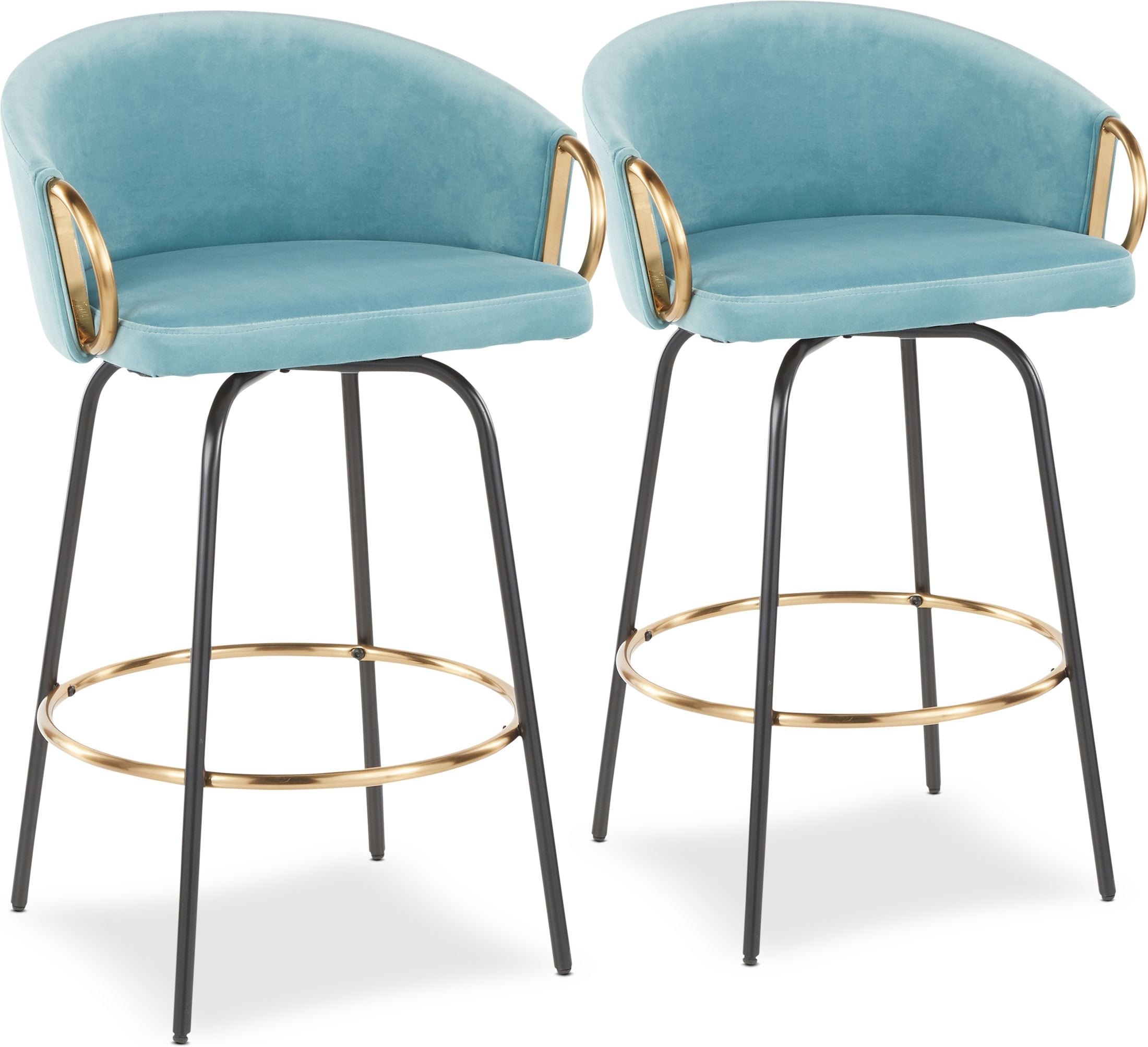 Dining Room Furniture - Eve Set of 2 Counter-Height Stools