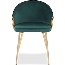 eve green dining chair