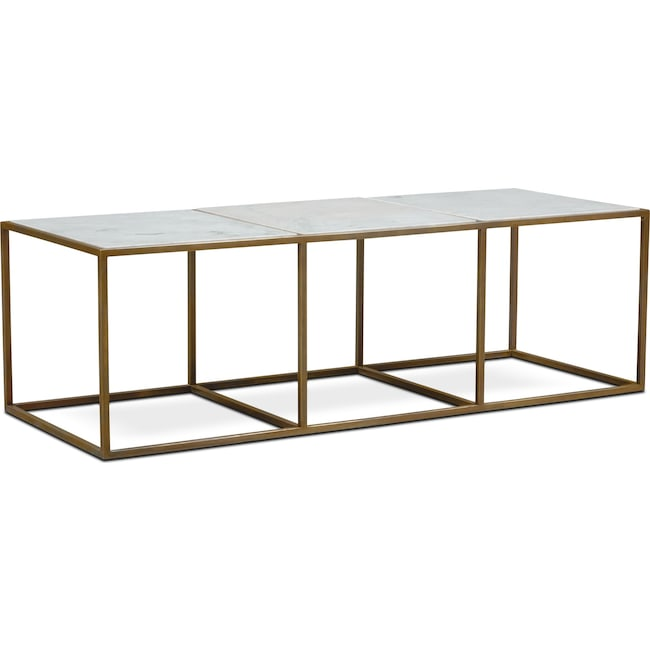 Accent and Occasional Furniture - Evie Marble Coffee Table