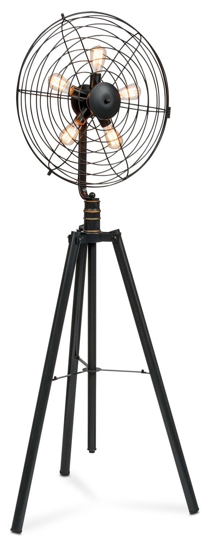Home Accessories - Fan Floor Lamp