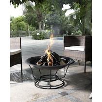 fire pit black fire pit