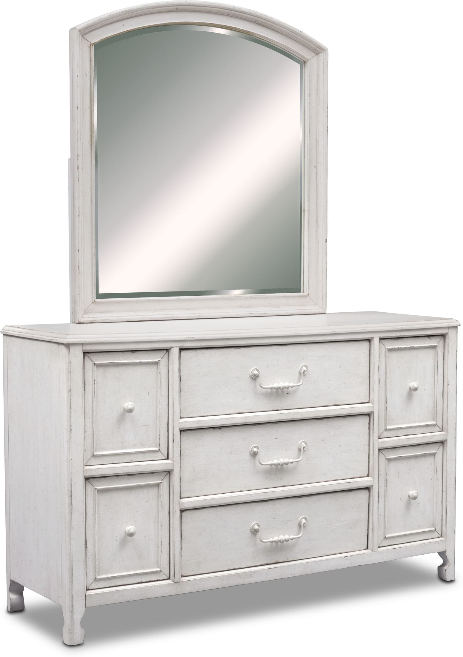 Bedroom Furniture - Florence Dresser and Mirror