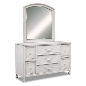 Florence Dresser and Mirror