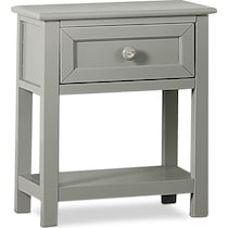 flynn youth gray nightstand