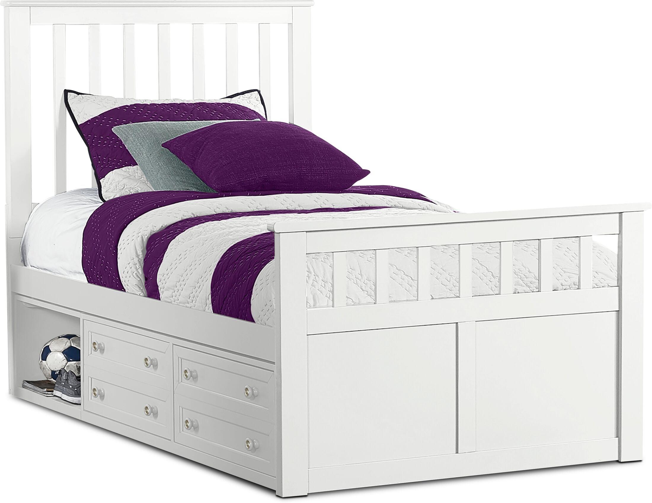 Kids Furniture - Flynn Captain's Bed