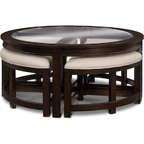 four corners merlot  pc occasional table set