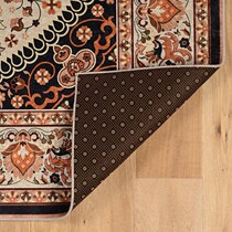 fuji cream copper area rug ' x '