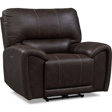 Gallant Dual-Power Recliner - Chocolate