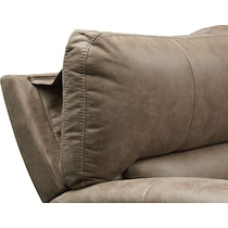 gallant light brown  pc power reclining sectional