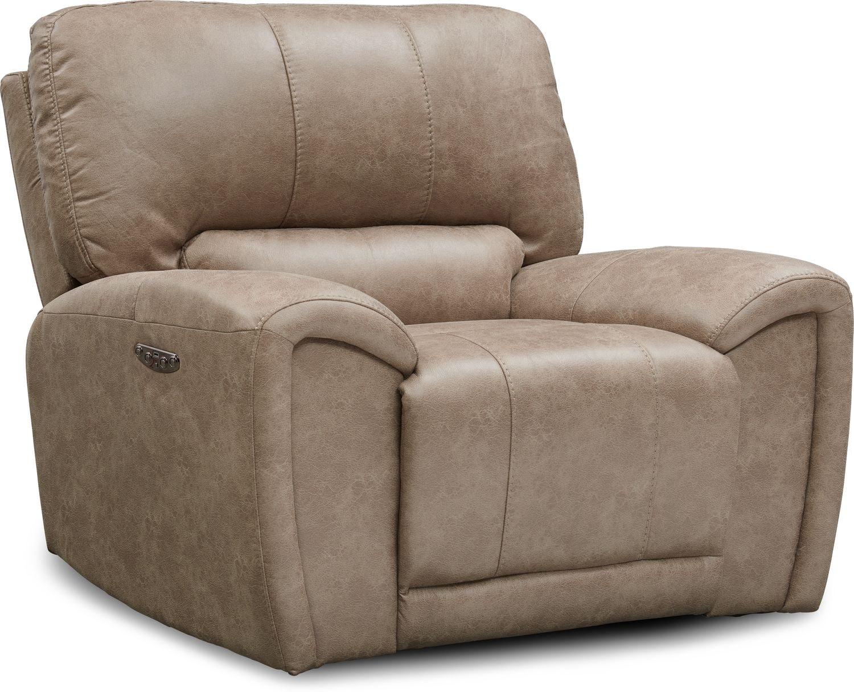 Living Room Furniture - Gallant Dual-Power Recliner